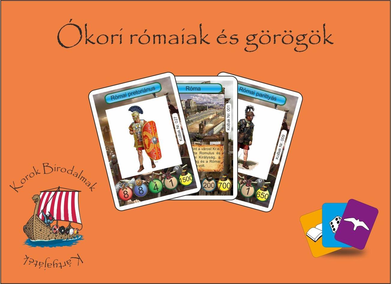 Korok Birodalmak Kártyajáték 1.